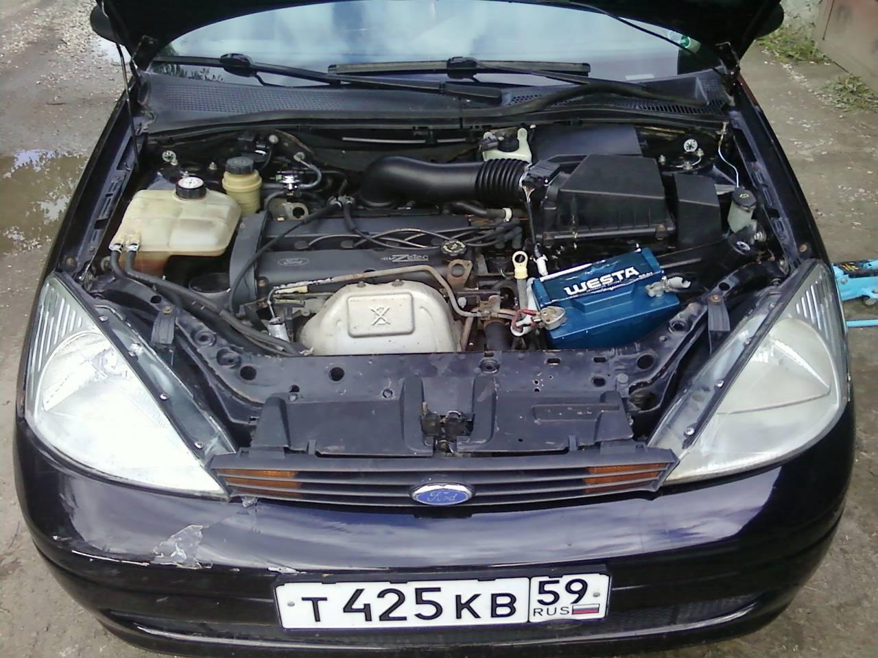 схема двигателя форд фокус 2 1.6 с описанием запчастей