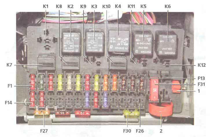 Схемы электрических соединений автомобилей ваз 2110i (lada 110), ваз 2111i (lada 111), ваз 2112i (lada 112)