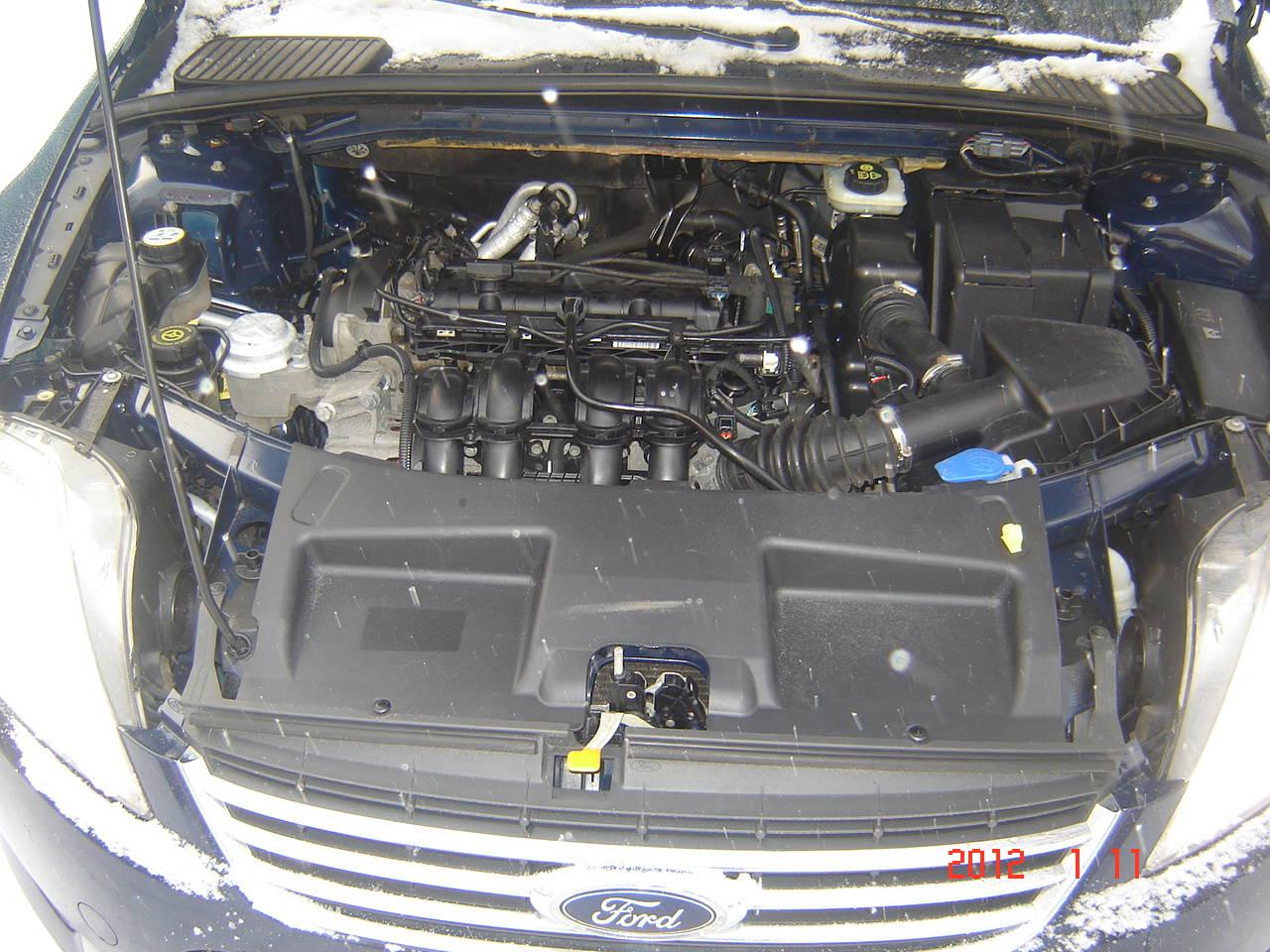 схема системы охлаждения ford s-max,двигатель 2.3л.