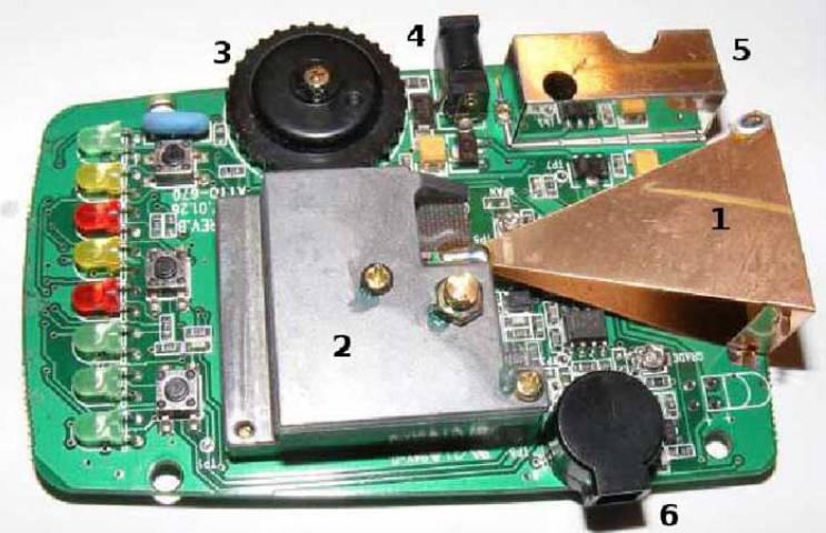 Ремонта радар-детектора своими руками