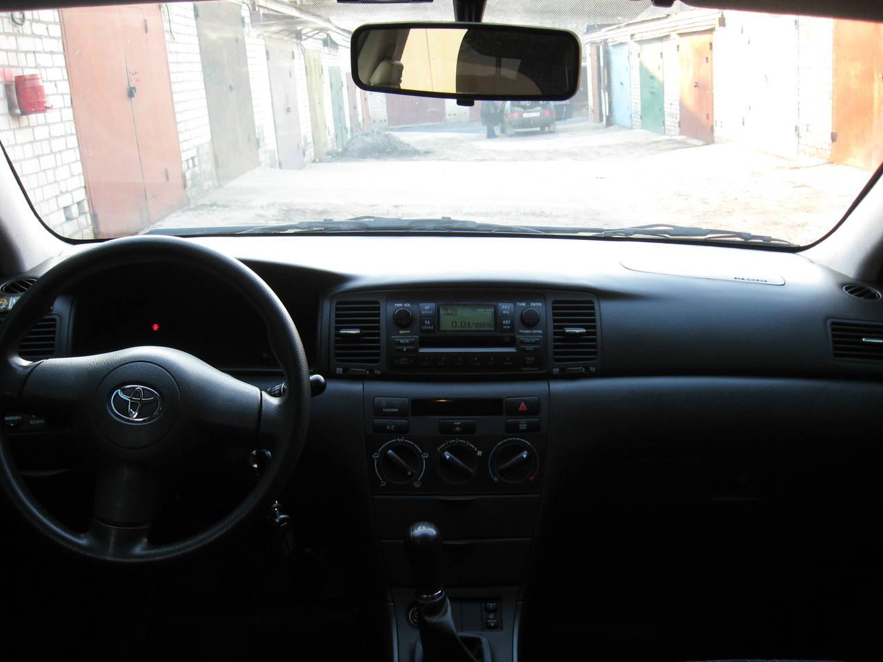 Toyota Королла 2006 кузов #10