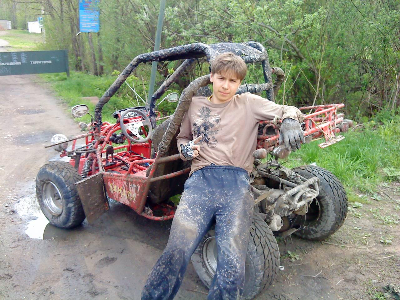 Багги с двигателем от мотоблока своими руками