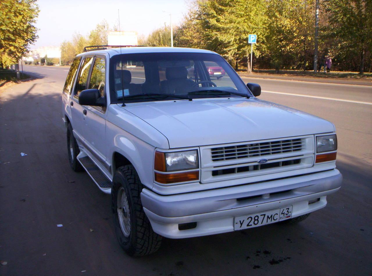 Форд эксплорер 1994 фото