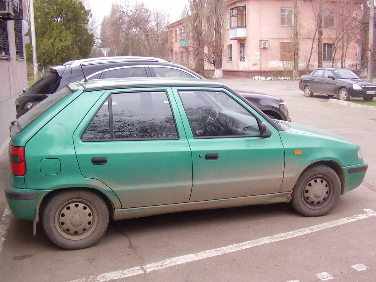 skoda felicia 1997 дорожный просвет