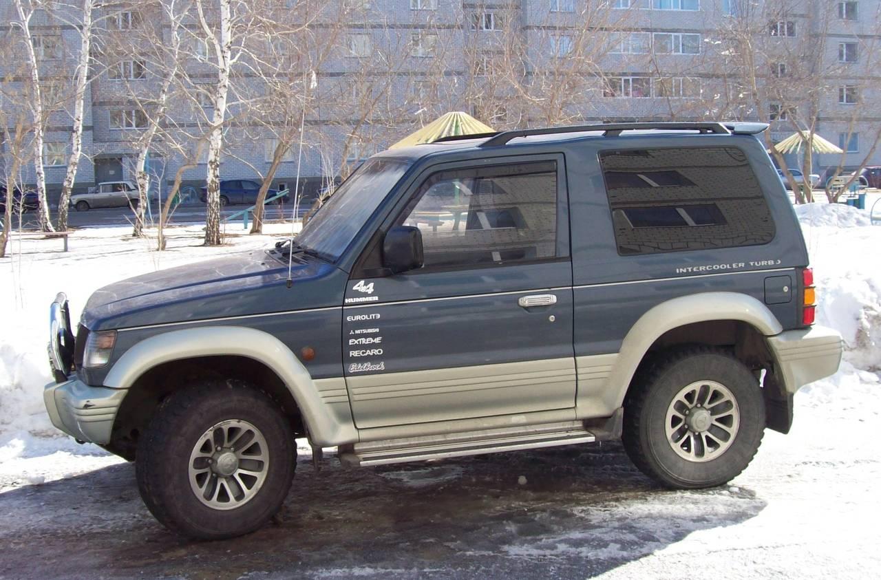 митсубиси паджеро 1991 года фото