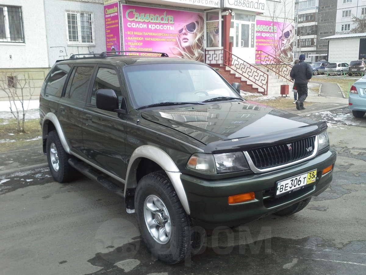 Продажа mitsubishi pajero sport в красноярске