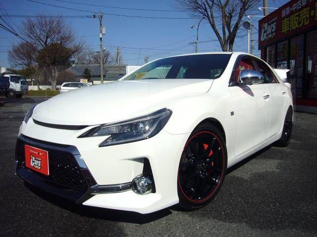 Toyota Mark X — правый руль не помеха - PovozCar ru