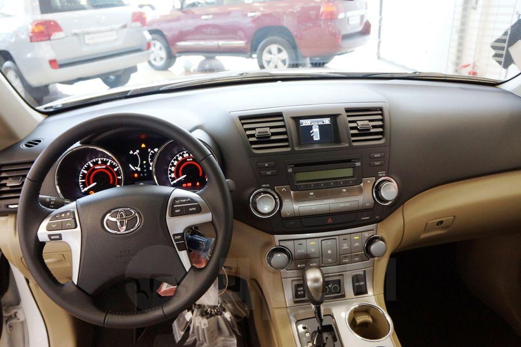 Тойота хайлендер 2013 фото