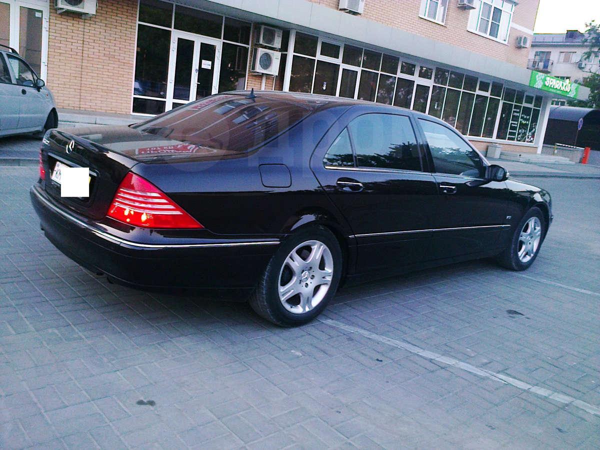 Продажа Mercedes-Benz S-Class 2000 г. в Новороссийске, Авторынок ...