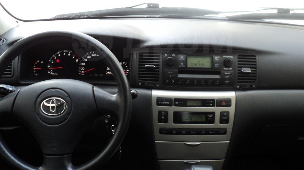 Тойота королла 2003 фото