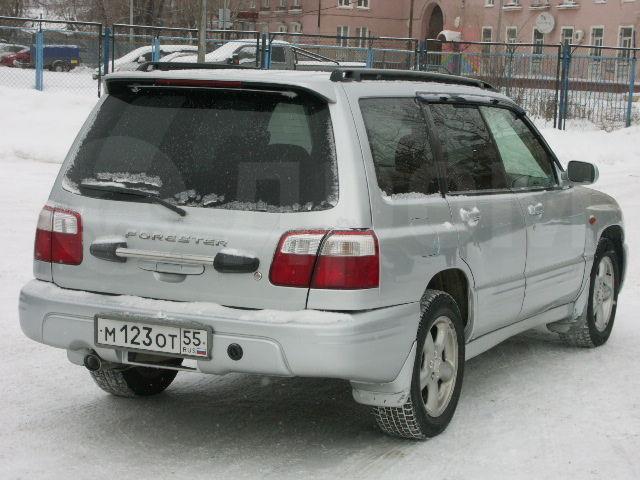 Субару форестер 2001 фото