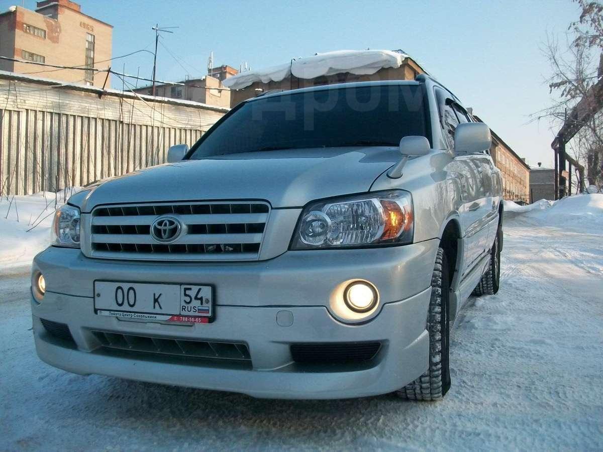 Toyota Highlander Club - Передняя губа