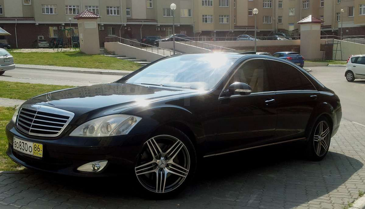 The gallery for mercedes s class 2006 for 2006 mercedes benz s class