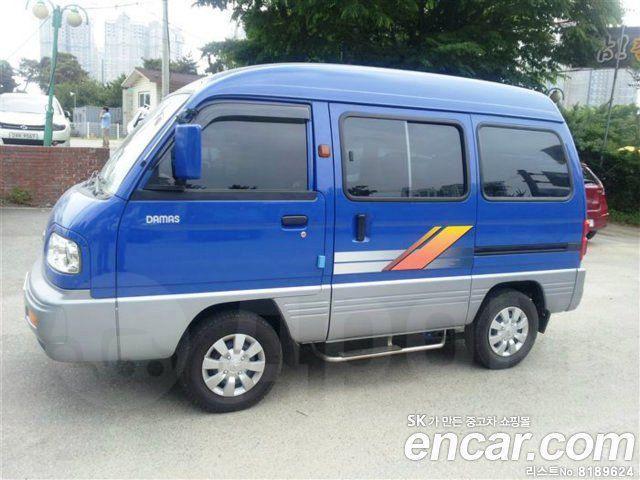 Продажа Daewoo Damas 2008 Новосибирск