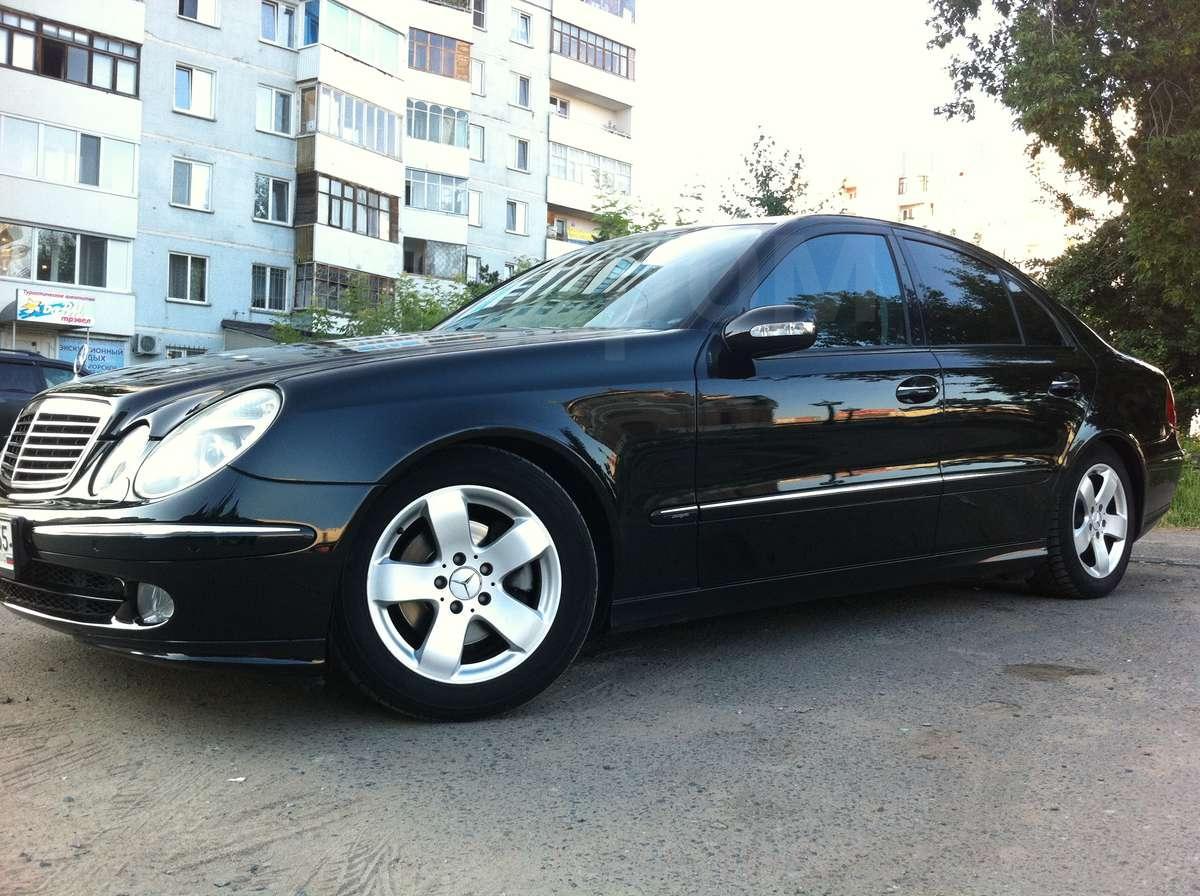 Купить Mercedes-Benz E-Class 2004 в Омске, Avangarde, не пневмо ...