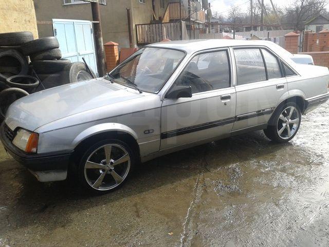 Opel Rekord 83г. в Мостовском, бензин, пробег 455 тысяч км, механика