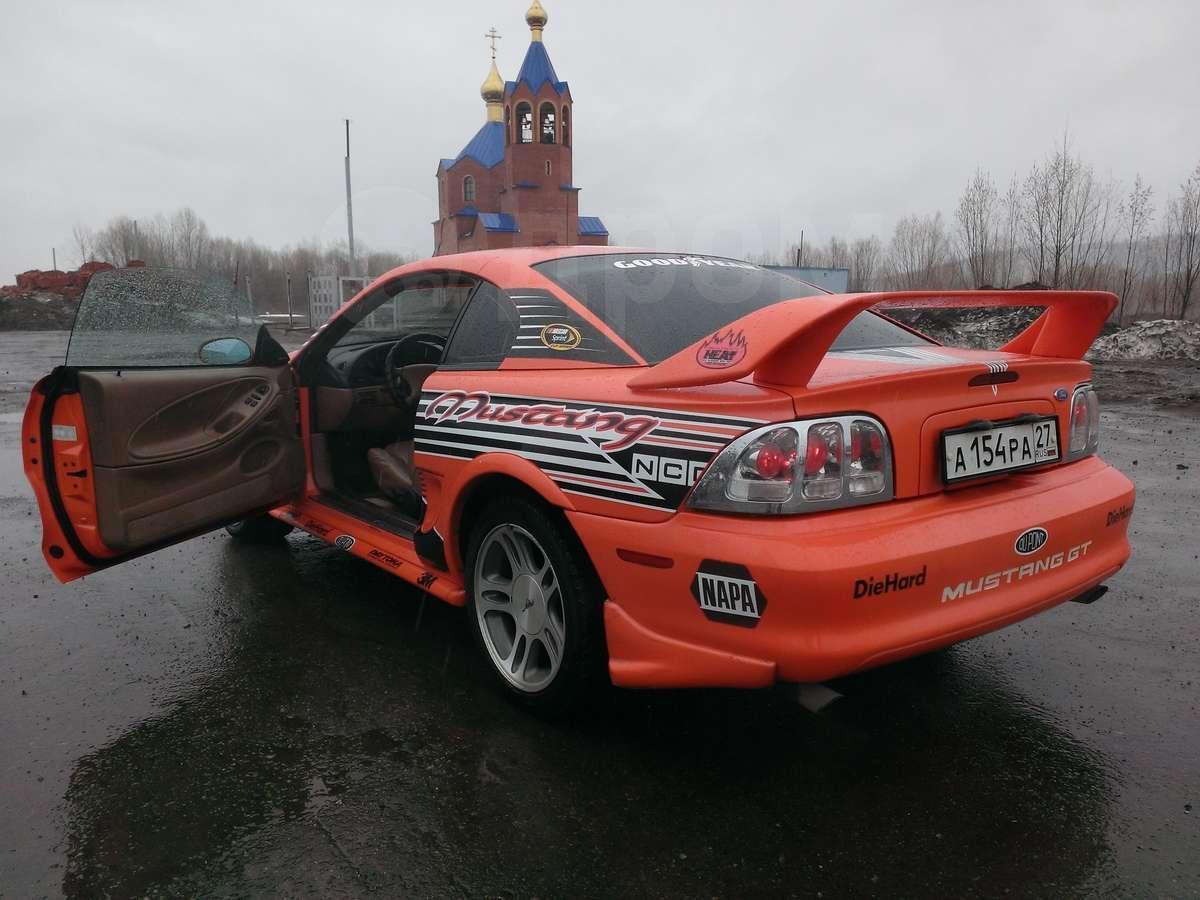 дром форд мустанг