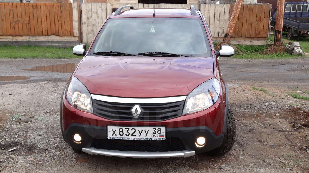 Рено Сандеро Степвей 2012 в Иркутске, Продам автомобиль Сандера ...