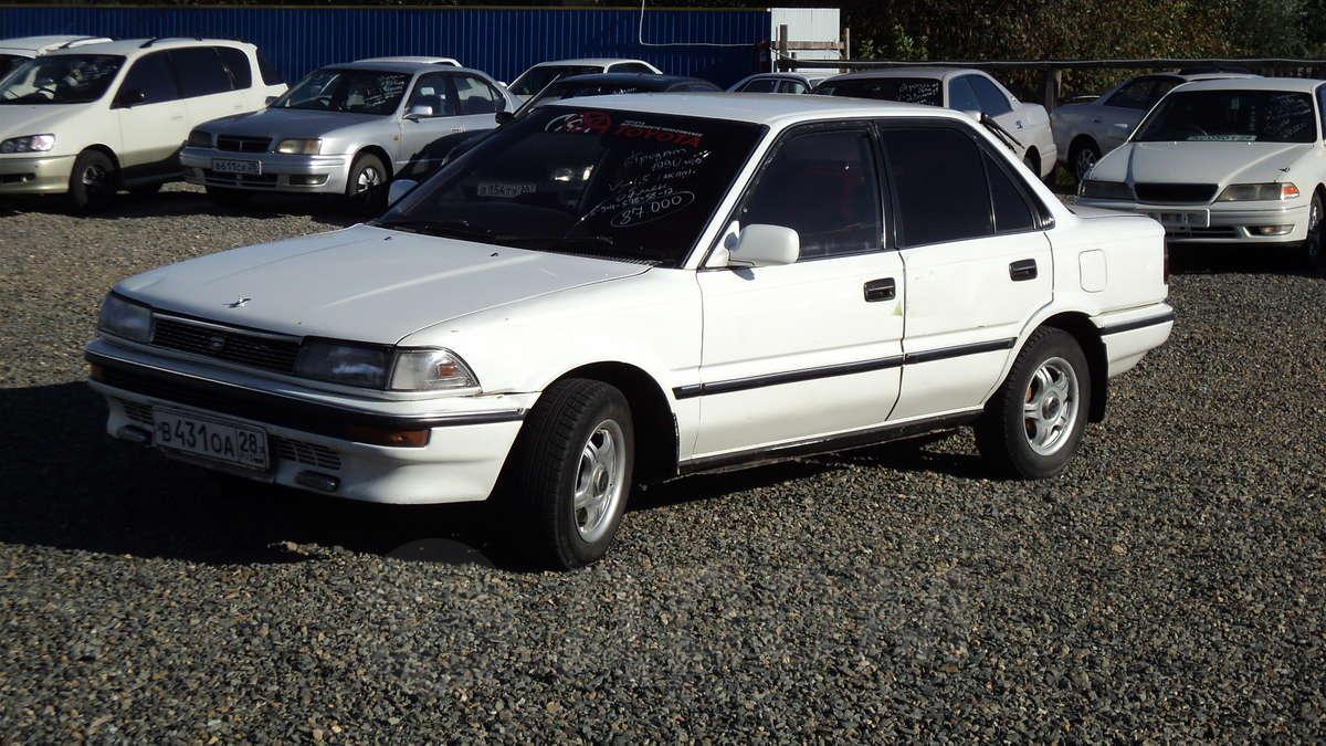 Тойота королла 1990 фото