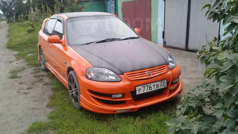 Авто Honda Civic Ferio 99 года в Бийске, 25 ПТС, требуется замена крестовин карданного вала, цена 245 тыс.р., автомат, с пробего