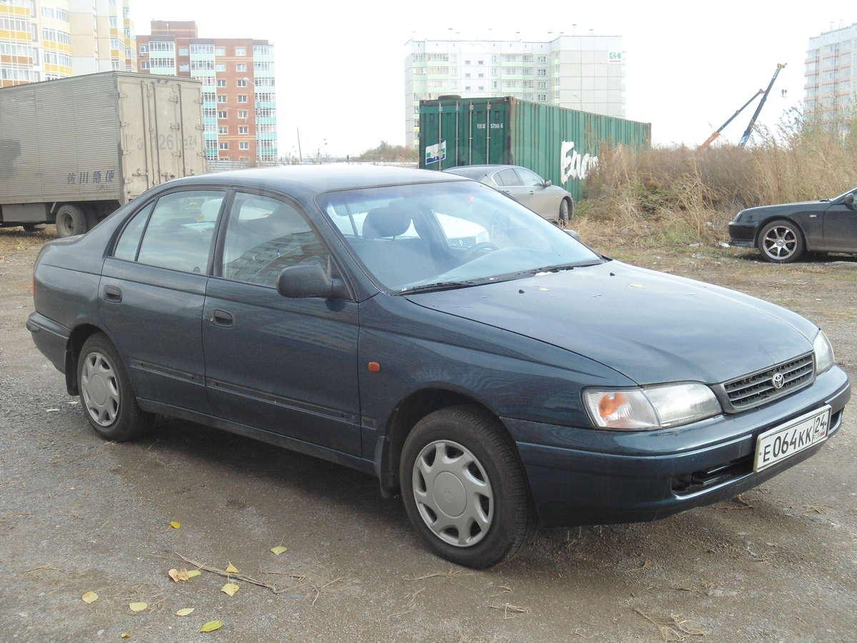 Тойота карина 1996 фото