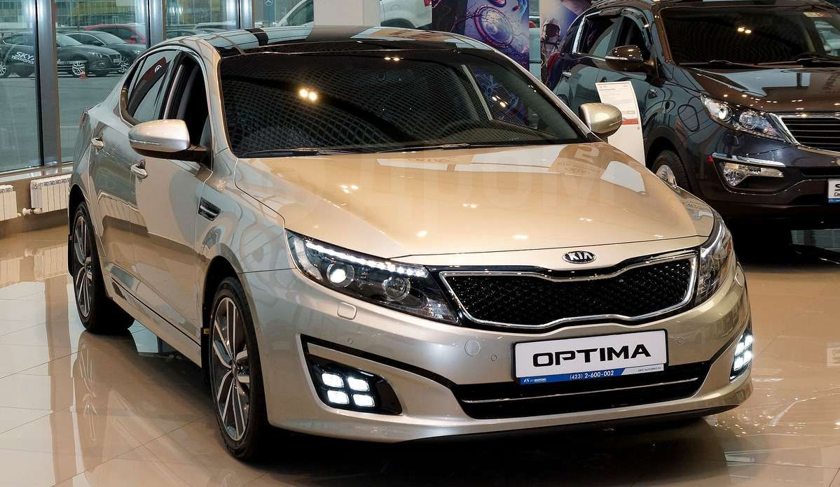 KIA Optima - Купить KIA Optima в Москве, новая цена на