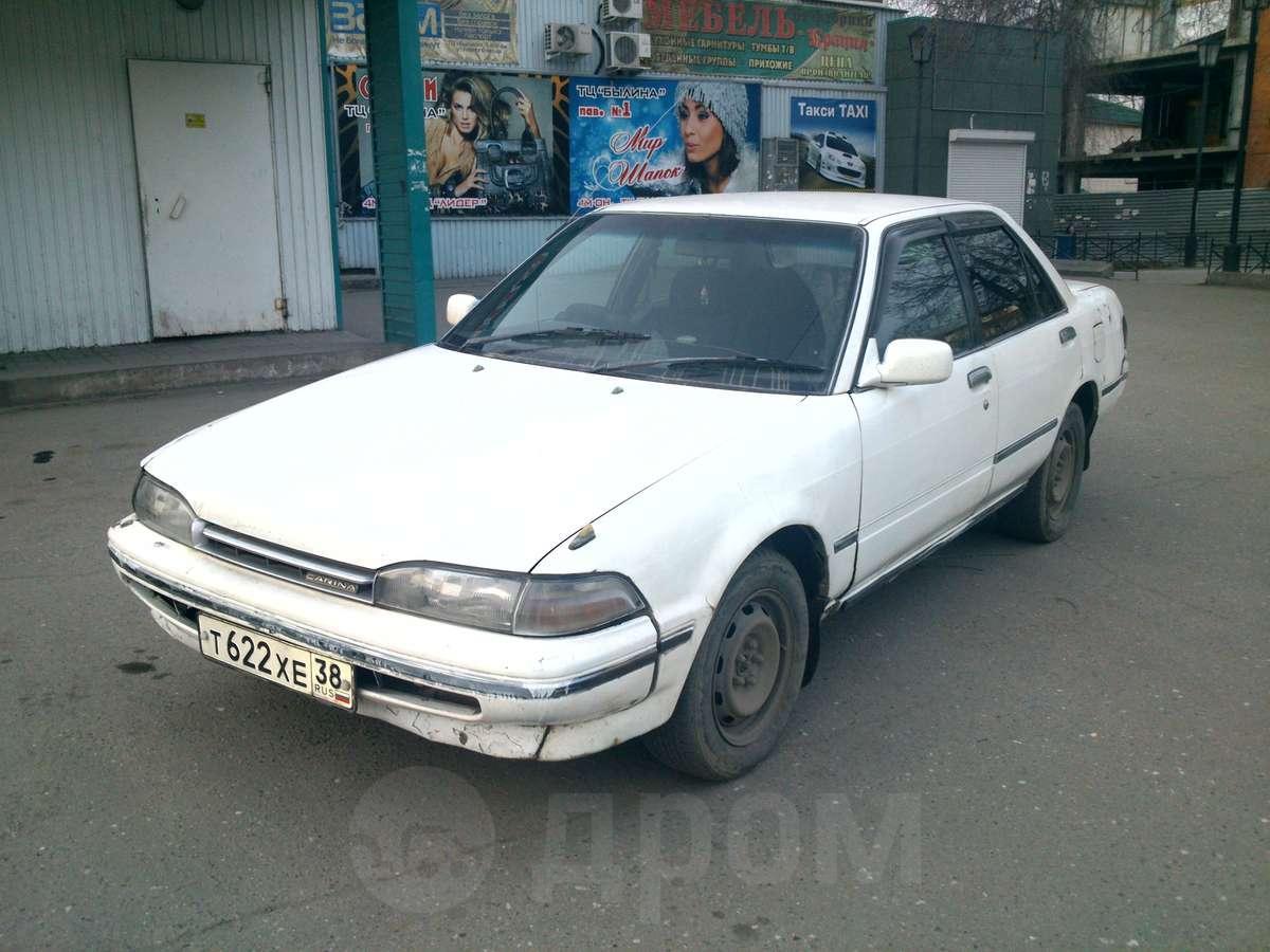 тойота карина 1990