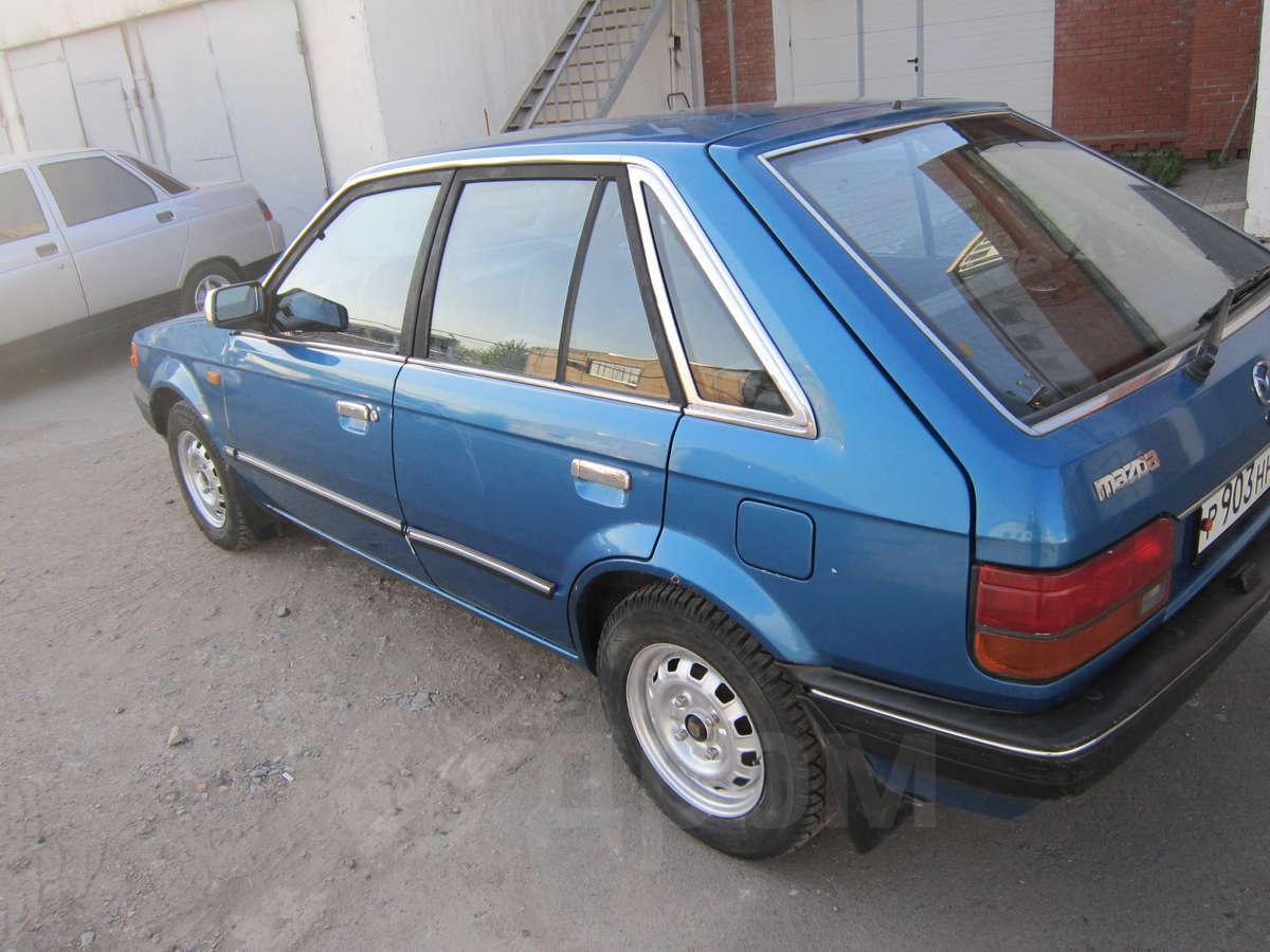 Мазда 323 1986 года фото