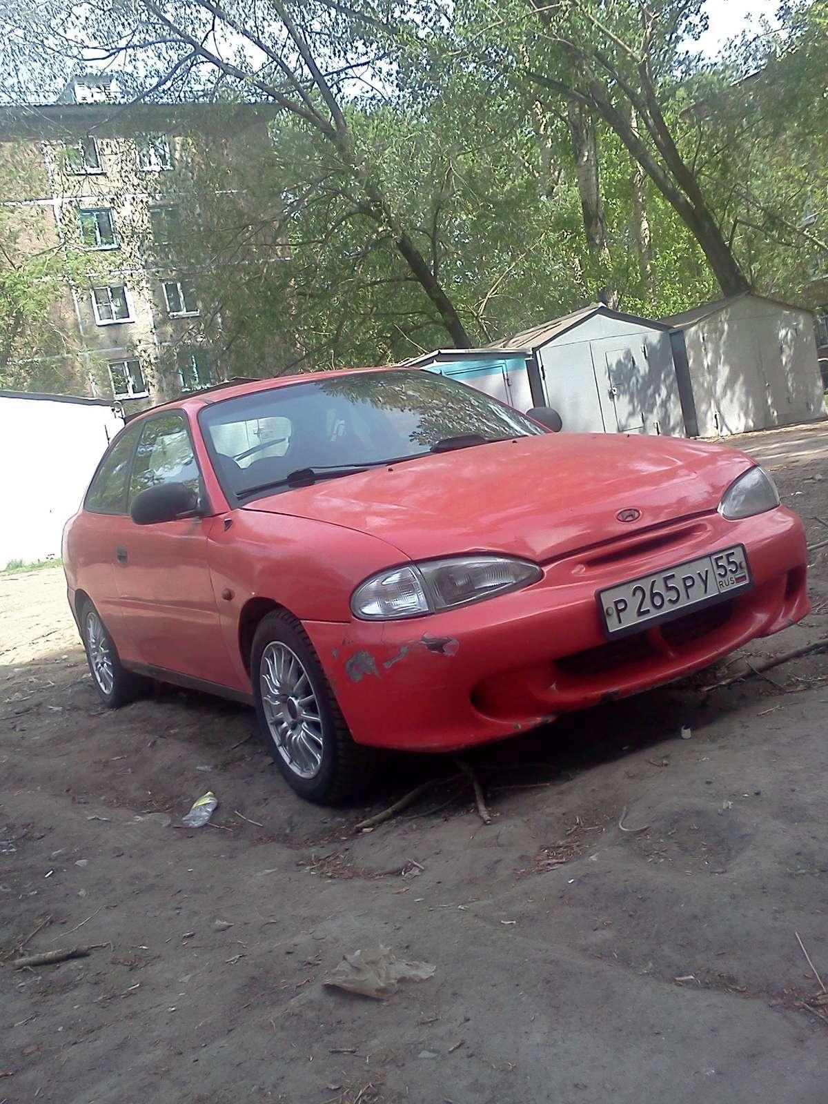 Hyundai accent 1996 год 90 000 руб