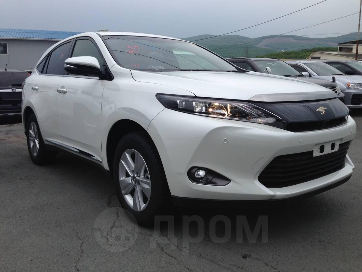 Toyota harrier 2014 год 1 890 000 руб