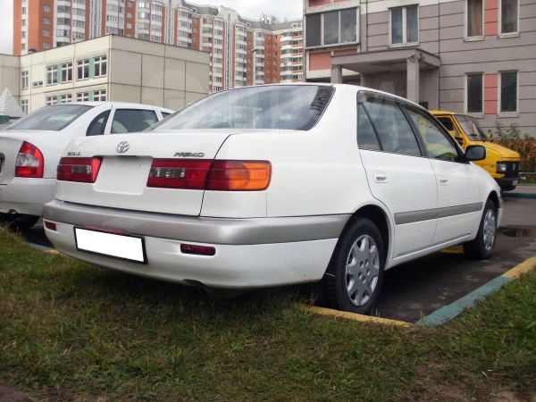 Toyota Corona Premio 1996, 1997, седан, 1 поколение, T210 ...