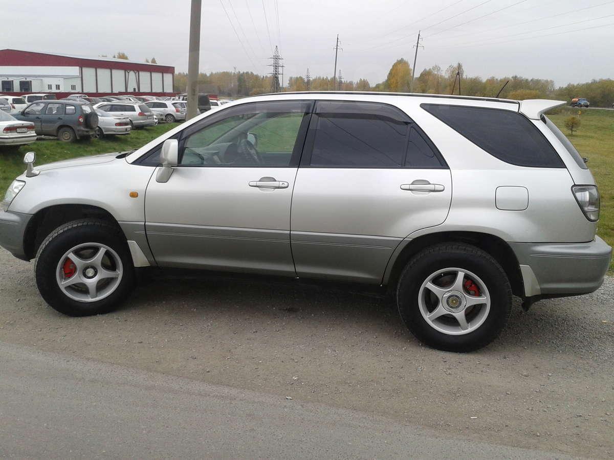 Toyota harrier 2002 год 590 000 руб