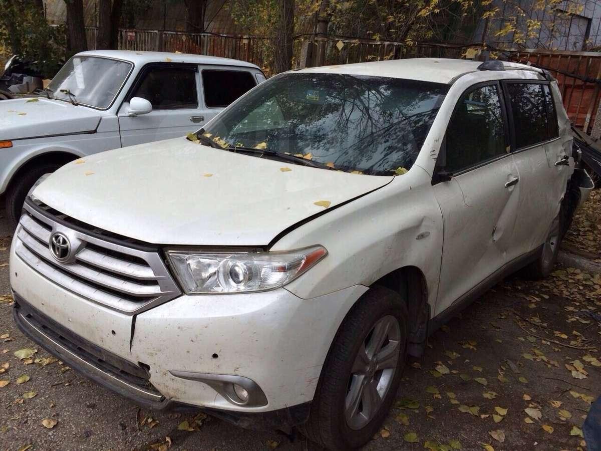 Toyota Highlander разбор