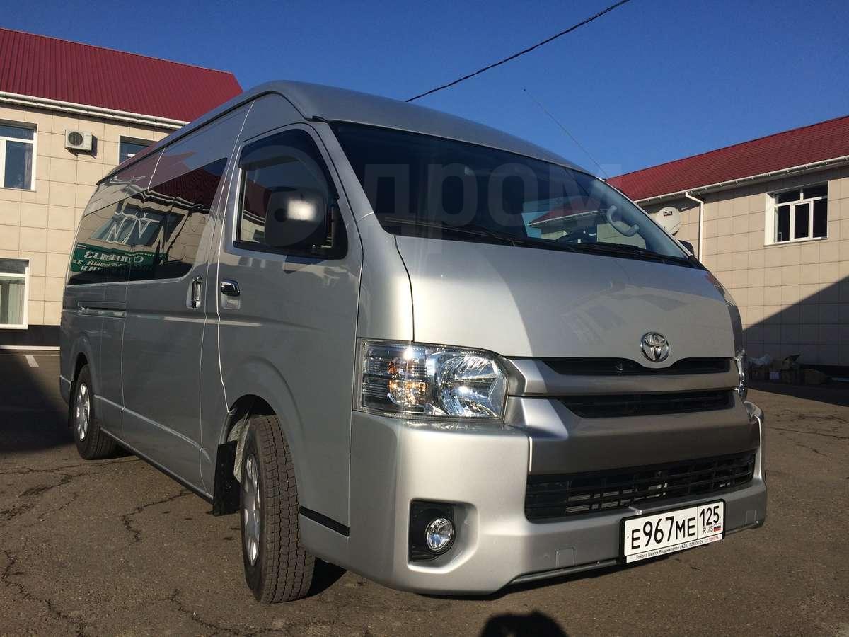 Toyota hiace 2014 год 1 650 000 руб