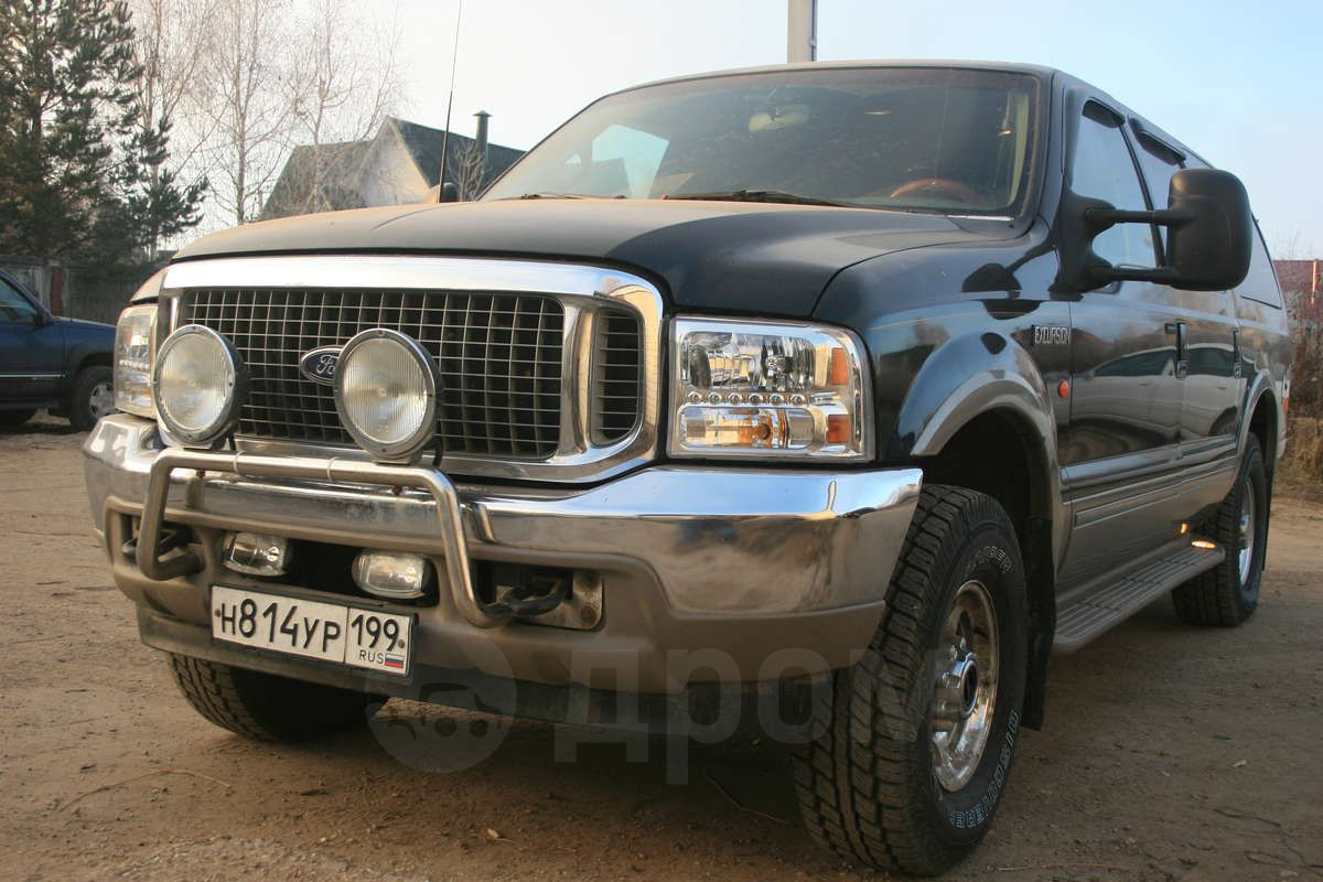 ford excursion, 2002 год