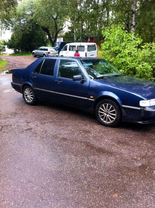 Смотрите, какой автомобиль: saab 9000 1996 года за 370 000 рублей на автору!