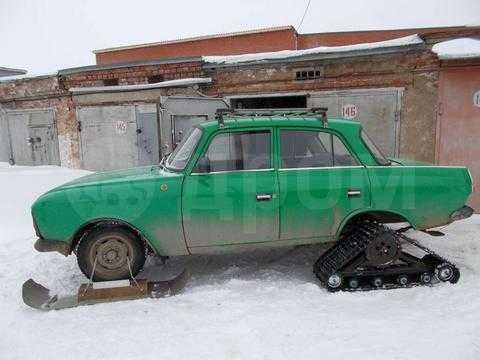 Как сделать из москвича 412