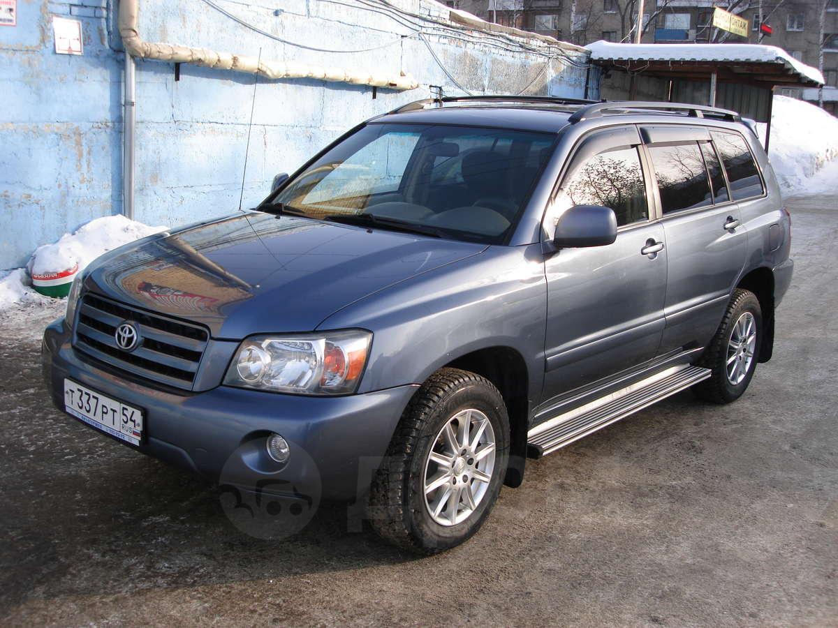 Toyota Highlander (Тойота Хайлендер) 2004-2007: описание ...