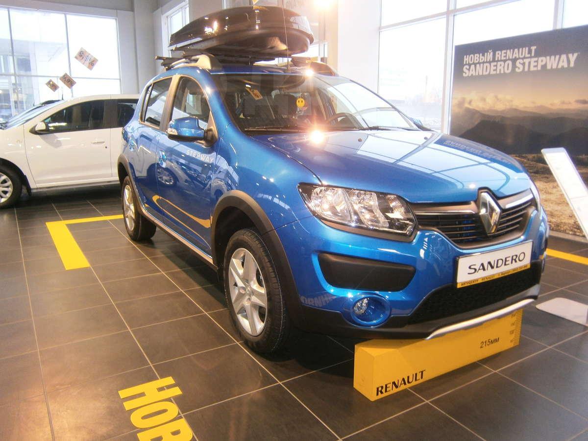 Реклама Renault Sandero Stepway 2 14 - Твой - YouTube