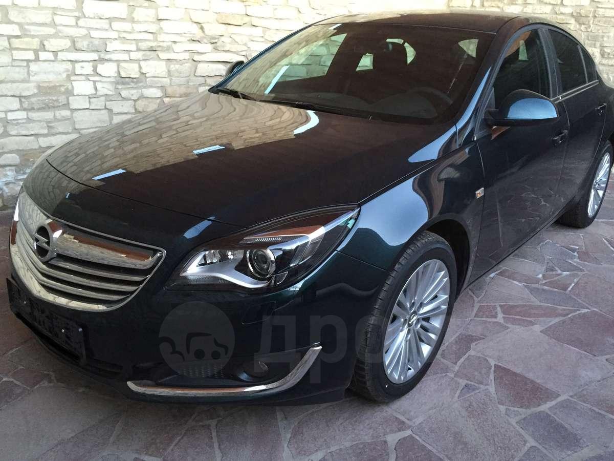 Новый Opel Insignia 2 16 седан 4 дв: технические
