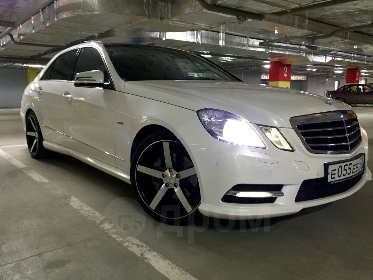 Продажа авто Мерседес Е-класс 2011 года в Тюмени, Авто по ПТС 2011 ...