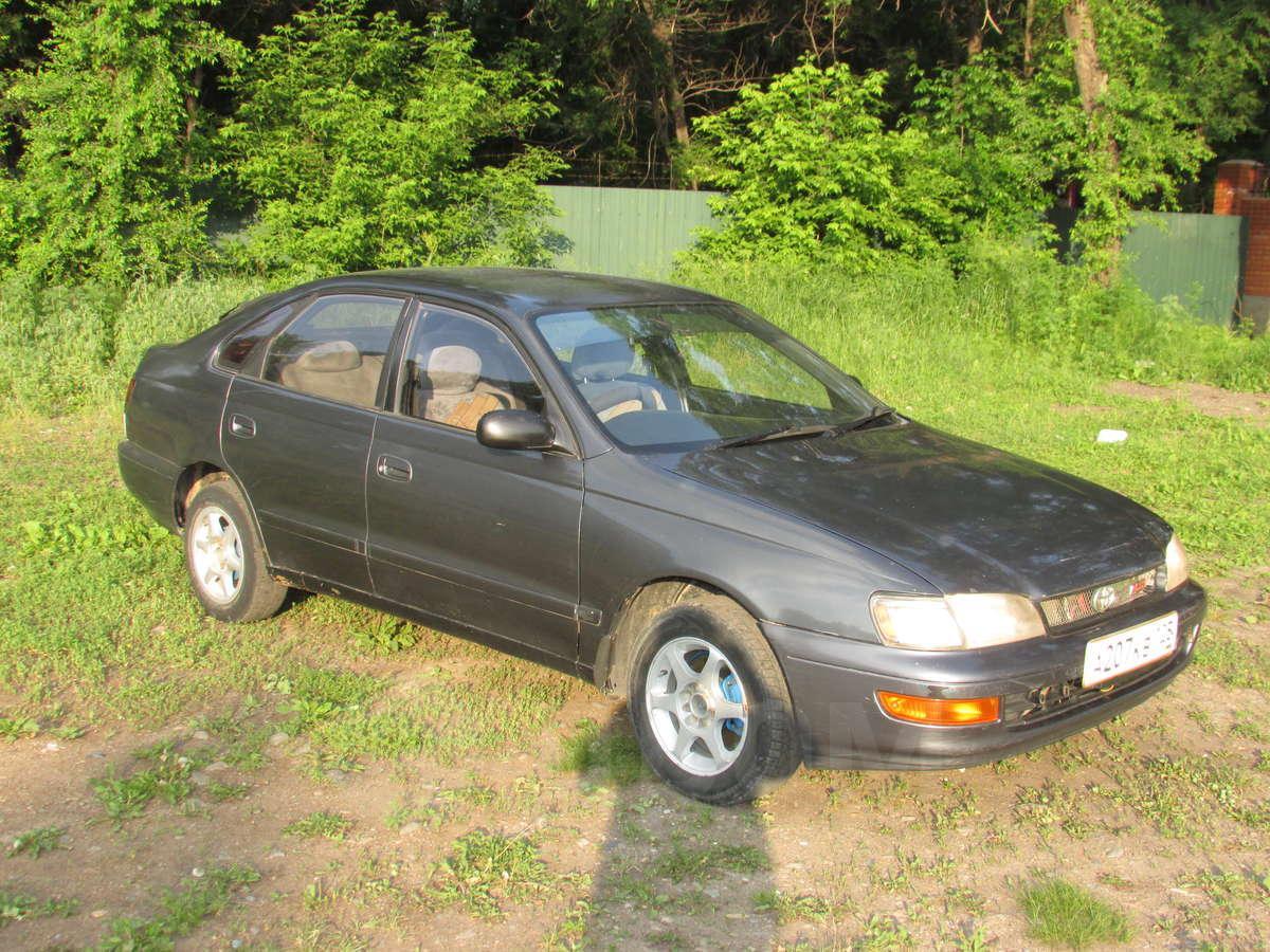Toyota Корона сф 1992 #3