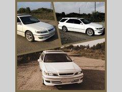 Toyota Mark II Wagon Qualis, 2000
