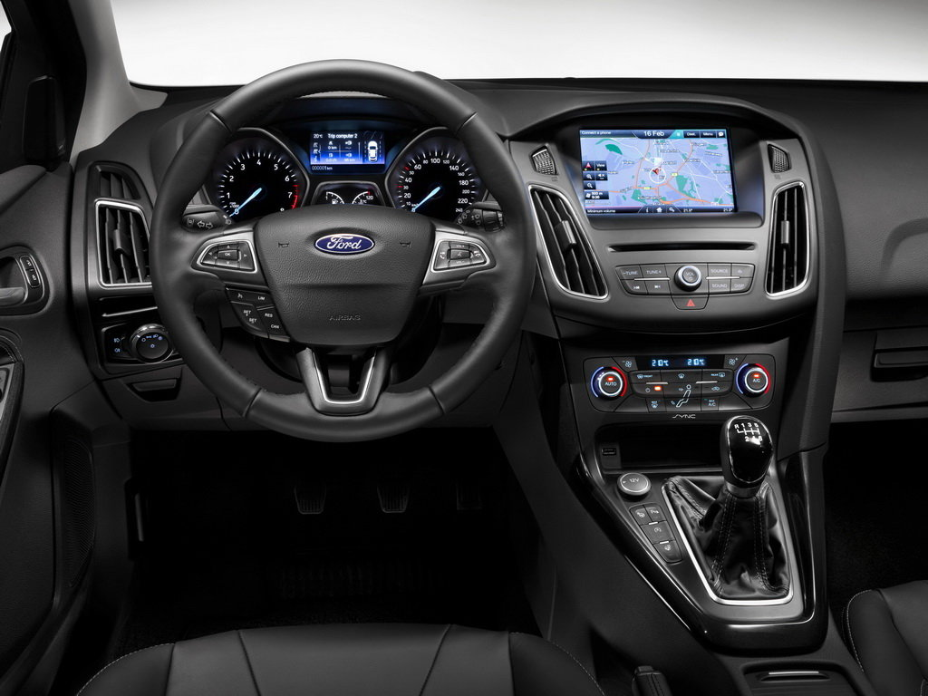 ford focus 3 2014 седан акпп салон