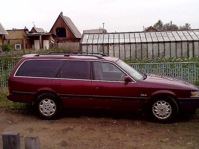 размеры заднего бампера mazda capella 1990 год