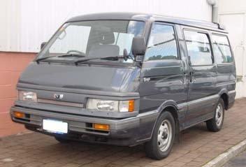 mazda bongo 2.0 gsx (02.1990 - 07.1993) - технические характеристики