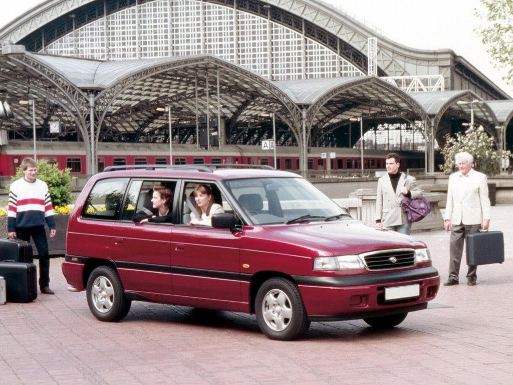 mazda mpv 1995-1999 комплектация