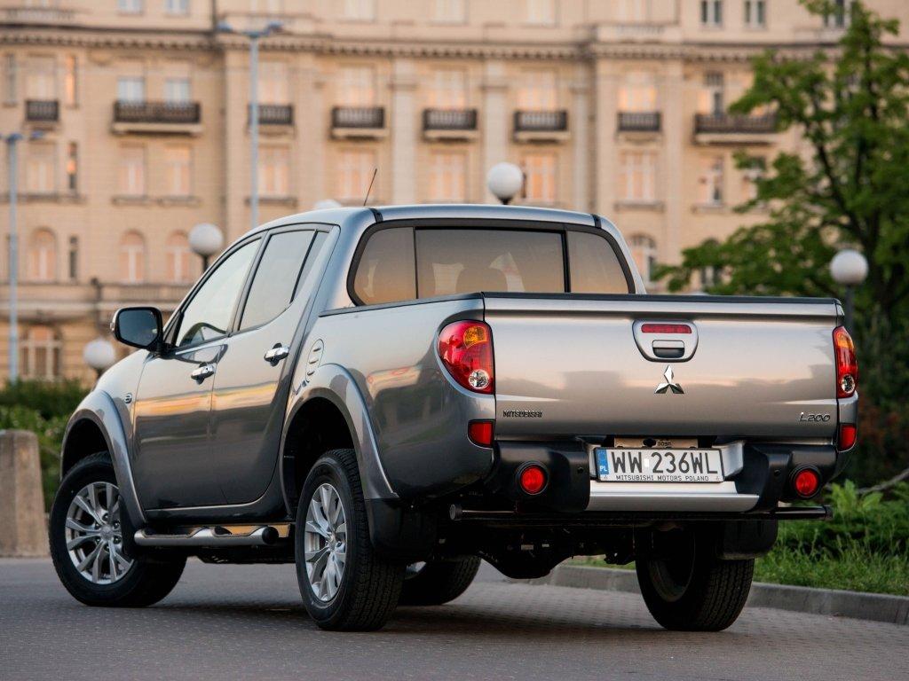 mitsubishi l200 2013г технические характеристики