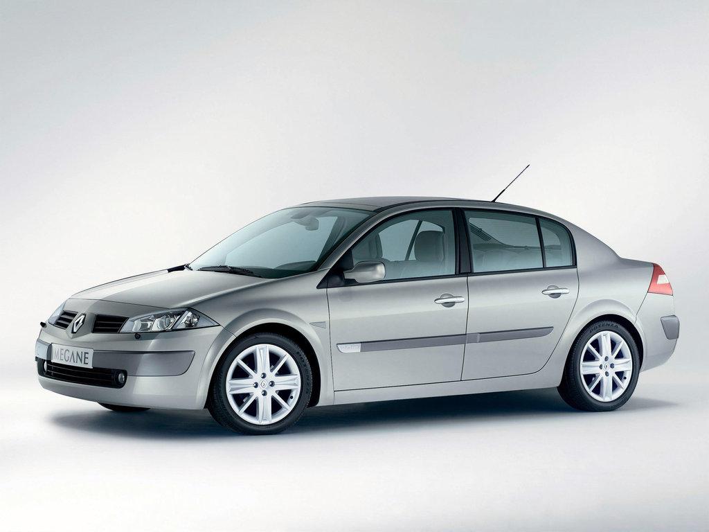Renault Megane Sedan 2002 >> Renault Megane 2002, 2003, 2004, 2005, 2006, седан, 2 поколение технические характеристики и ...