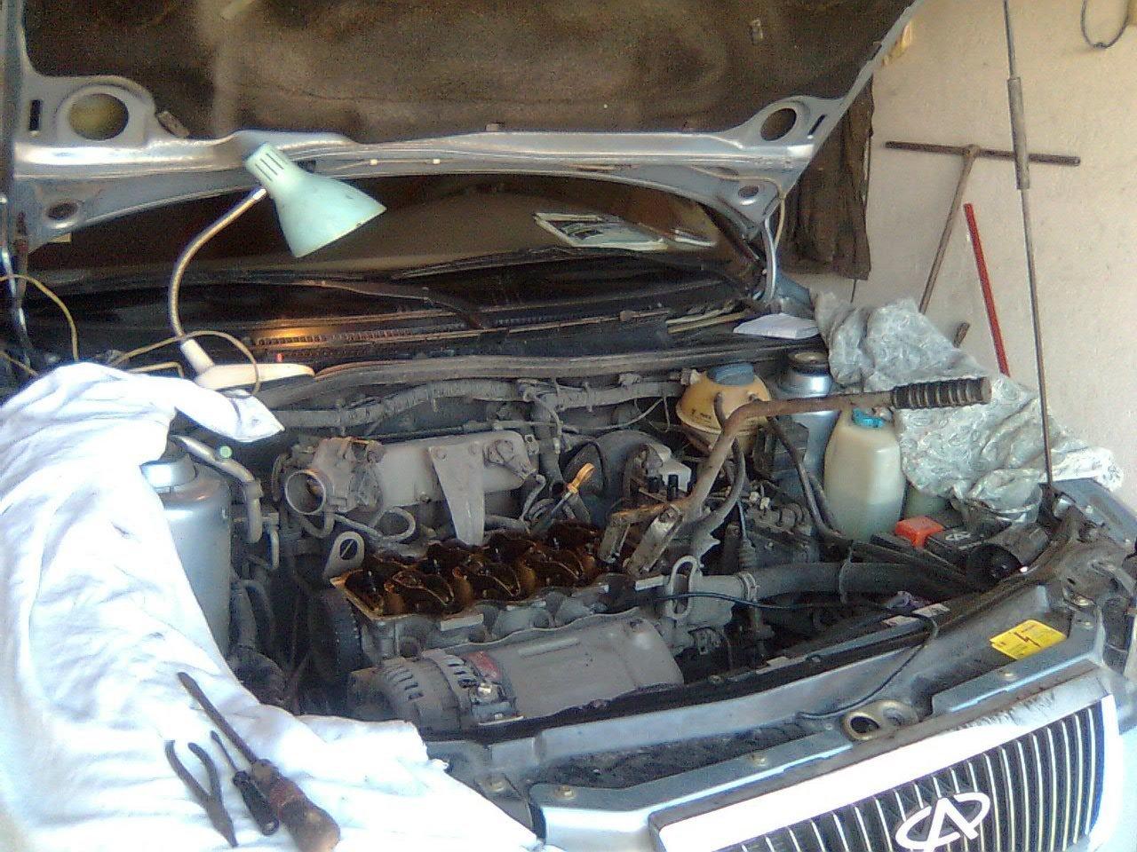 Двигатель на Chery Amulet - chinaclub-auto.ru